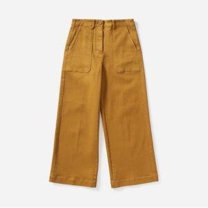 Everlane Wide Leg Utility Cropped Pants